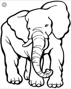 elefant ausmalbild 08 | elefant ausmalbild, malvorlagen