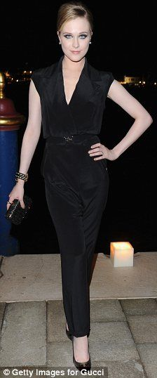 Evan Rachel Wood in Gucci at the 2011 Gucci Award For Women In Cinema, September 2011