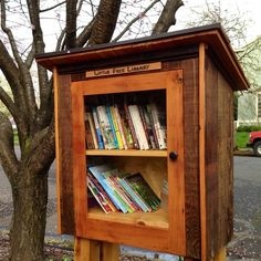Little free library for our community