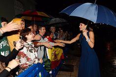 Queen Letizia attends Princess of Asturias Awards concert. 19 Oct 2017