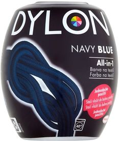 DYLON All-in-1 Navy Blue 350 g - Barva na textil | Alza.cz Line Shopping, Blues, Navy Blue, Navy