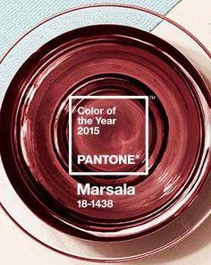 Il color Marsala è il prescelto da Pantone per il 2015!