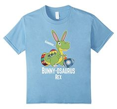 Kids Easter day Bunny-osaurus Shirts Gifts ideas for Kids Boys Girls Dinosaurs t-rex