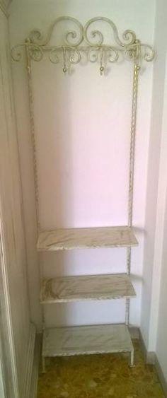 APPENDIABITI in FERRO BATTUTO . Personalizzato . 801 Ladder Bookcase, Ebay, Home Decor, Decoration Home, Room Decor, Home Interior Design, Home Decoration, Interior Design