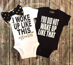 A personal favorite from my Etsy shop https://www.etsy.com/listing/287430227/twin-onesiesbaby-girl-baby-boy-onesies