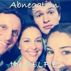 The moment you realise the selfless are taking a selfie