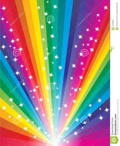 Illustration about Abstract colorful starry rainbow background. Rainbow Room, Love Rainbow, Taste The Rainbow, Rainbow Art, Rainbow Colors, Rainbow Wallpaper, Star Wallpaper, Wallpaper Backgrounds, World Of Color