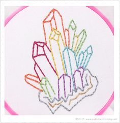 Crystal Visions • Sublime Stitching Embroidery Patterns