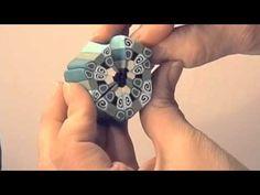 Kaleidoscope Cane tutorial, pt 2 (video)
