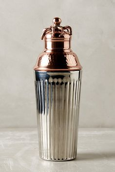 Shipwright Bar Cocktail Shaker #anthropologie