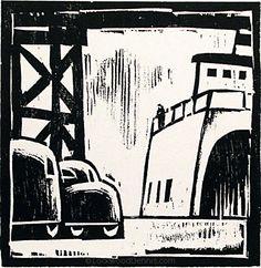 Woody Dennis - Black & White Woodcuts