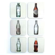 Porta Copos Coca Cola Four Bottles