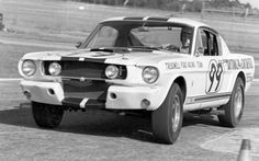 Carroll Shelby's iconic Ford Mustang GT350 pony car