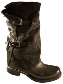 High boots with buckles, by Italian brand A.S.98 - Airstep