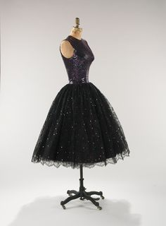 Traina-Norell dress ca. 1955 via The Costume Institute of the Metropolitan Museum of Art