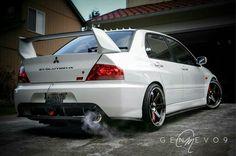 #Mitsubishi #EvoIX #Modified #Stance