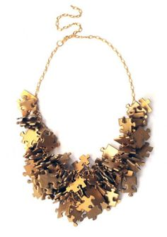 PuzzLove gold necklace (proj. Monika Roth)