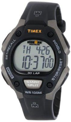 Timex Men's T5E901 Ironman Traditional 30-Lap Gray/Black Resin Strap Watch Timex $29.98 http://www.amazon.com/dp/B000AYTYLW/ref=cm_sw_r_pi_dp_m78Ntb1GY6YBHBZW bookmark us please at www.webshoppingmasters.com/salter3811
