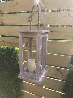 Holz Laterne Kerzenhalter