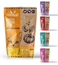 pet packaging design - Google 搜尋 Pet Branding, Packaging Design, Pumpkin, Herbs, Chicken, Coffee, Drinks, Google, Kaffee