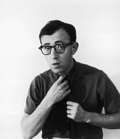 Woody Allen in the 1960s Photo by William L. Hamilton