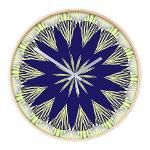 FRACTALSCOPE 02 Wooden Wall Clock .  Prices start at $1.89!