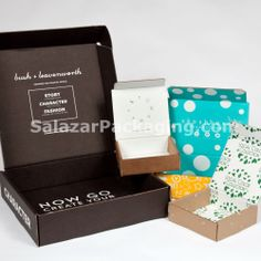 Packaging products and custom design with economical, eco-friendly materials. Print Packaging, Box Packaging, Packaging Design, Custom Printed Boxes, Local Color, Box Design, Custom Design, Decorative Boxes, Branding