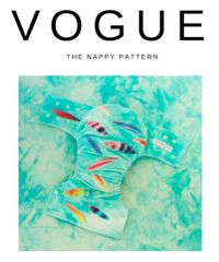 "The Vogue Nappy Pattern  The Couture Cloth ""Pin it to Win it"" competition (link below)  Why I want to win (a haiku!)  I can't sew at all I need your expert guidance Found in Vogue Pattern   http://coutureclothnappies.com/blog/pattern-competition"