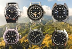 A Brief Guide to the Iconic Watches of The Vietnam War — Vintage Military Watches, Vintage Watches, Vietnam War, World War, Watch Bands, Omega Watch, Twitter, Google Search, Antique Watches