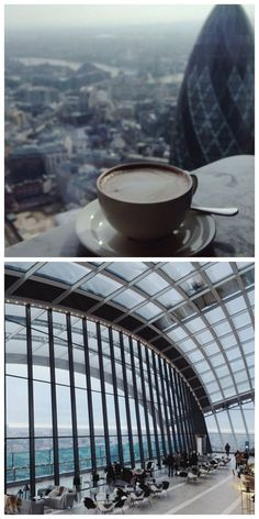 Have coffee at the Duck & Waffle or breakfast at the Sky Garden (at the top of the Cheesegrater Building) in London. Both have amazing views – a good way to start the day.