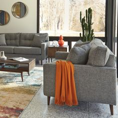 Discover timeless style at Ashley. Interior Design Living Room, Living Room Decor, Bedroom Decor, Easy Home Decor, Home Furniture, Furniture Sets, Apartment Living, Home And Living, Room Inspiration