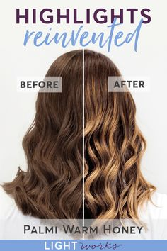 Give yourself gorgeous warm blonde balayage highlights at home with Light Works, 2018 Allure Best of Beauty award winner! Goof-proof, super easy application and clay-based formula means going light and fresh with your hair is stress-free! Plus the salon secret hair toner is included for perfect color every time!Click to shop now. #balayage #highlights #haircolor
