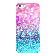 iPhone 6 Plus/6/5/5s/5c Case - Pastel glitter (110 PEN) ❤ liked on Polyvore