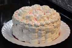 Cake decoration protein custard from Angela / Global Fashion Baking Recipes, Cake Recipes, Frosting Tips, Cake Fillings, Hungarian Recipes, Cakes And More, Custard, Oreo, Fondant