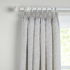 Buy John Lewis Arley Lined Pencil Pleat Curtains Online at johnlewis.com