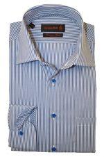 Waanzinnig mooi overhemd van Jacques Britt. Nu te koop bij Hemdenonline
