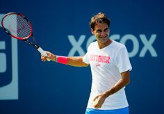 Roger Federer Photos: US Open: Previews