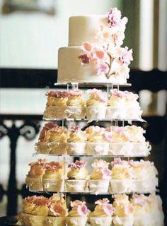 Cake/cupcake layer idea