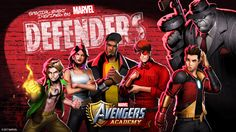 Not To Be Outdone, Avengers Academy Brings The Defenders To The Palm Of Your Hand