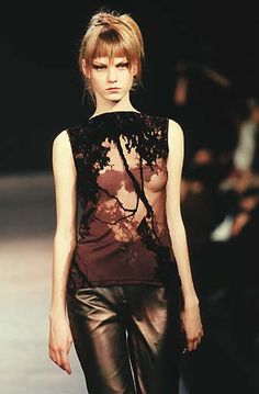 Martine Sitbon - Fall / Winter 1997 | Angela Lindvall