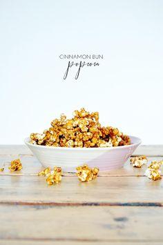 cinnamon bun popcorn.
