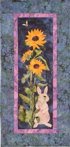 Woodland Sunflower a licensed McKenna Ryan design. $140.00, via Etsy.