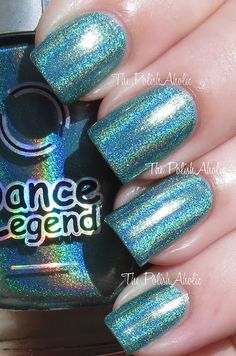 Brand: Dance Legend // Collection: New Prisms (2013) // Color: Android // Blog: The Polishaholic