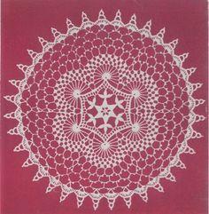 Maggie's Crochet · Swirls Doily Free Pattern
