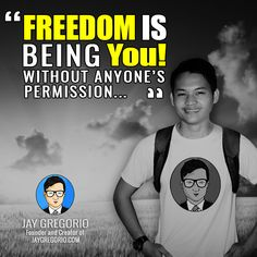 FREEDOM IS BEING YOU WITHOUT ANYONES PERMISSON Motivational Quotes For Entrepreneurs, Understanding Yourself, Moving Forward, The Creator, Freedom, Inspirational Quotes, Let It Be, Business, Liberty