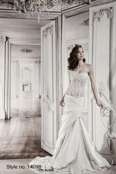 #pnina_tornai #bridal dress style no. 14098