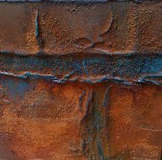 Realisatie: Wilma Kielstra Benodigdheden: Canvas doekje ½ liter Powertex ivoor 3D Balls small 3d Sand Rusty Powder ...