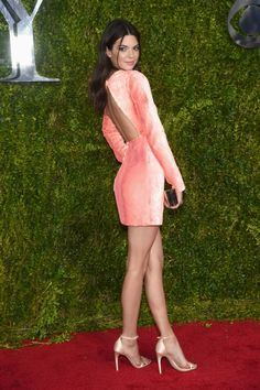 Kendall Jenner attends the 2015 Tony Awards at Radio City Music Hall in New York City on June 7, 2015.