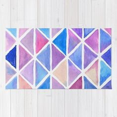 Galaxy Origami Rug by lorimoro Origami, Contemporary, Rugs, Diy, Stuff To Buy, Products, Home Decor, Farmhouse Rugs, Bricolage