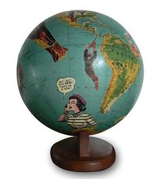 comic book globe